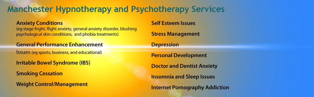 Conditions Treated with Hypnotherapy Manchester